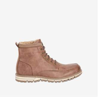 Joe Fresh Men's Winter Lace-Up Boots, Dark Brown (Size 10)