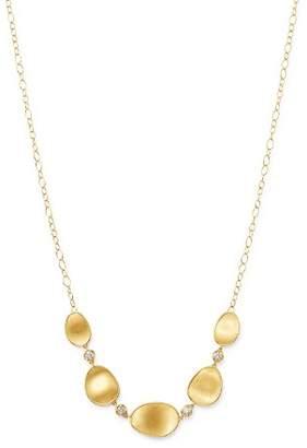 "Marco Bicego 18K Yellow Gold Lunaria Diamond Half Collar Necklace, 16.5"""