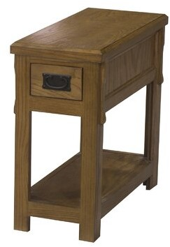 Millwood Pines Gus End Table with Storage Millwood Pines