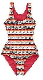 Missoni Kids' Zigzag-Knit One-Piece Swimsuit