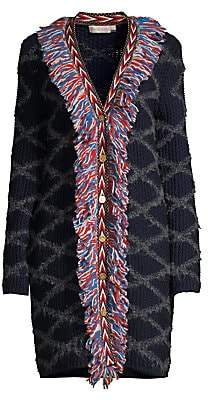 Tory Burch Women's Tweed Trim Cardigan