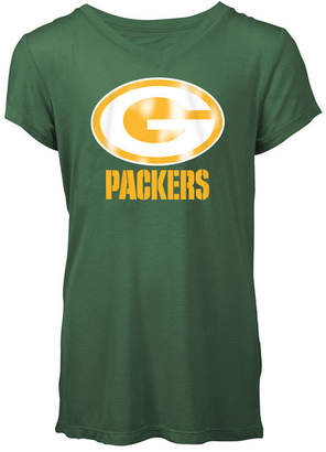5th & Ocean Green Bay Packers Logo T-Shirt, Girls (4-16)