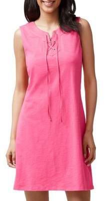 Tommy Bahama Lace-Up Sleeveless Dress