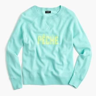J.Crew Pêche crewneck sweater in everyday cashmere