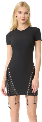 DSQUARED2 Short Sleeve Dress $1,080 thestylecure.com