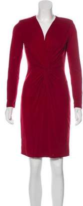 Max Mara Wool Knee-Length Dress