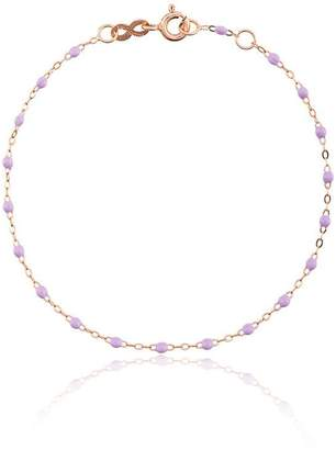 Gigi Clozeau lilac RG bead rose gold bracelet