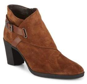 The Flexx Saddle-Up Suede Booties