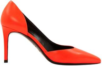 Saint Laurent Orange Leather Heels