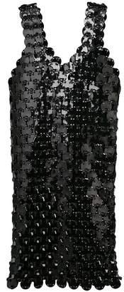 Paco Rabanne Rhodoid dress