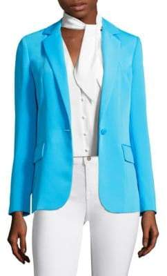 Peserico True One-Button Blazer