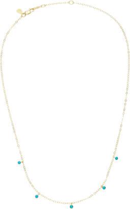 Ila Deborah 14K Gold Turquoise Necklace