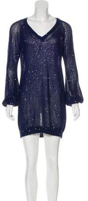 Stella McCartney Sequined Sweater Dress