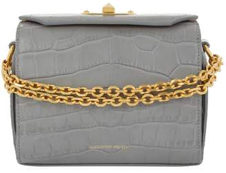 Alexander McQueen Crocodile Box Bag 19