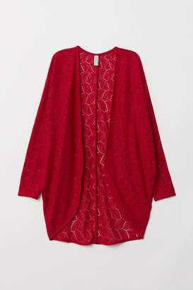 H&M Lace Cardigan - Red