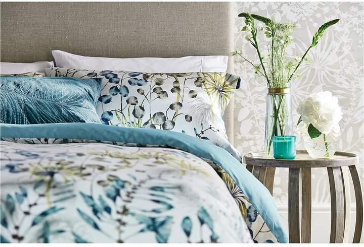 Postelia 100% Cotton Sateen 200 Thread Count Oxford Pillowcase