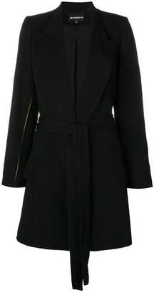 Ann Demeulemeester split seam coat