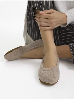 White + Warren Cashmere Ballet Slipper