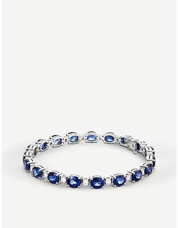 BUCHERER JEWELLERY 18k white-gold and diamond bracelet