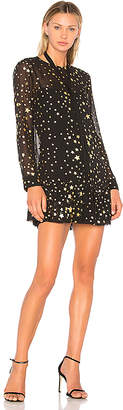 Red Valentino Star Print Dress in Black $875 thestylecure.com