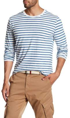 Save Khaki Long Sleeve Stripe Surf Tee