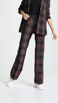 Cynthia Rowley Plaid Wool Pants