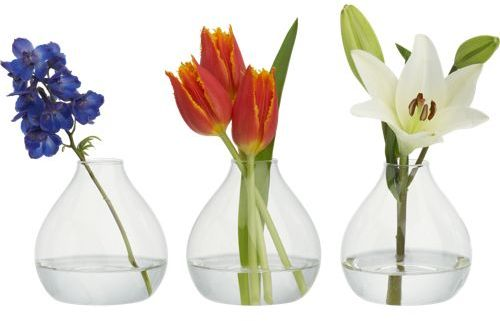 Joyce bud vases set of three $8.85