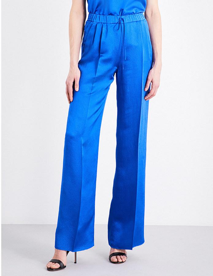 Max MaraMax Mara Flared pure-silk trousers