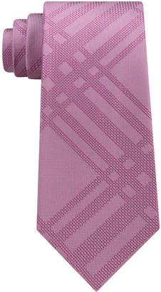 Kenneth Cole Reaction Men's Texture Grid Silk Tie