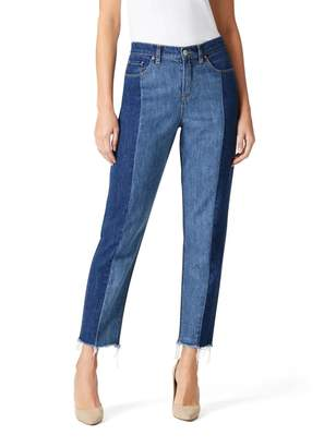Jeanswest Spliced Panel Relaxed Straight jean