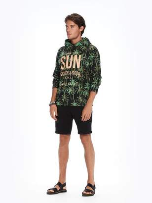 Scotch & Soda Tropical Print Hoodie