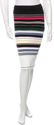 Preen Line Rib Knit Pencil Skirt w/ Tags
