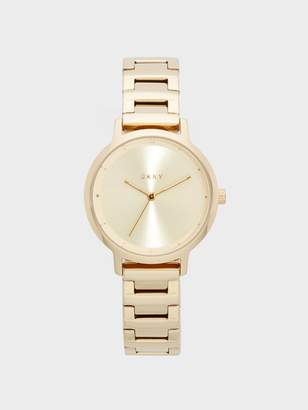 DKNY Modernist Stainless Steel Gold-Tone Watch