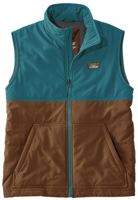 L.L. Bean L.L.Bean Men's Insulated Stretch Vest, Color Block
