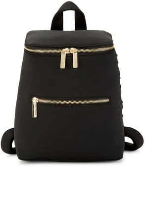 Peace Love World Debossed Boxy Backpack