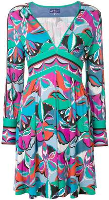 Emilio Pucci v-neck empire dress