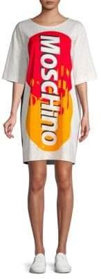Moschino Graphic T-Shirt Dress