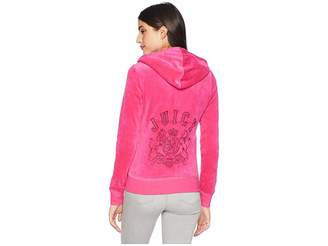 Juicy Couture Track Velour Collegiate Juicy Robertson Jacket