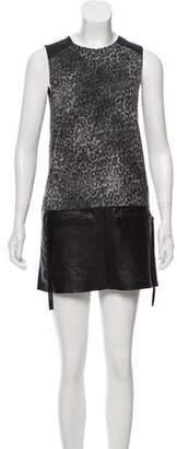Rebecca Taylor Shift Mini Dress