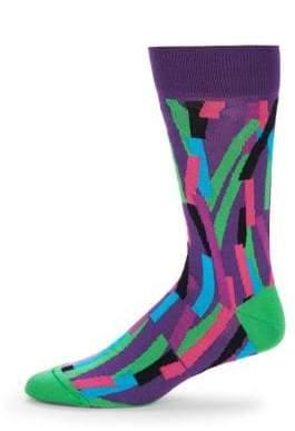 Bugatchi Colorblock Mid-calf Socks