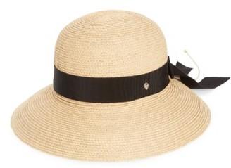Women's Helen Kaminski Newport Raffia Straw Hat - Beige $220 thestylecure.com
