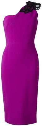 Victoria Beckham one shoulder midi dress