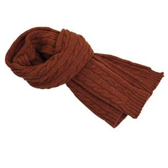 40 Colori - Rust Solid Thick Wool Scarf