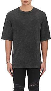 R 13 Men's Cotton-Blend Oversized T-Shirt - Black