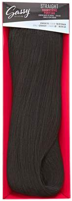 The Sassy Collection Straight Off Black 26 Inch Drawstring Ponytail
