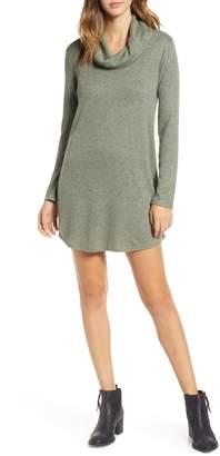 Socialite Cowl Neck Knit Dress