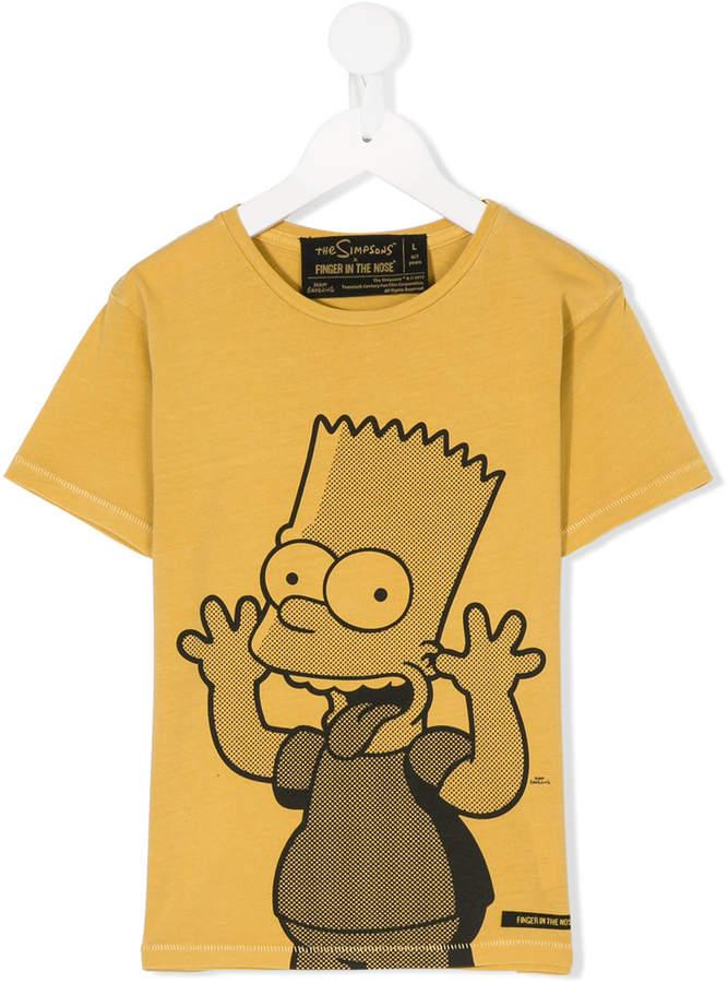 Bart print T-shirt