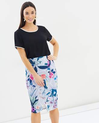 Dorothy Perkins Floral Pencil Skirt