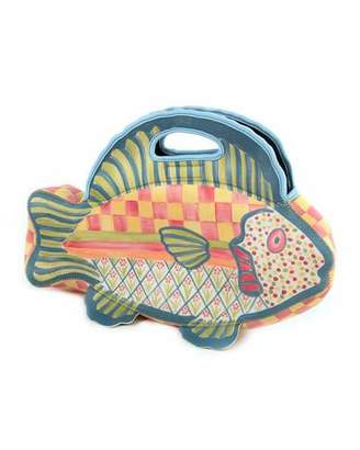 MacKenzie-Childs Freckle Fish Lunch Tote