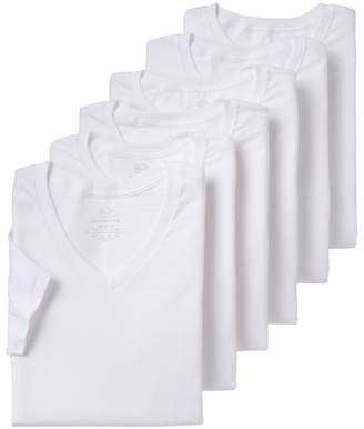 Fruit of the Loom Men's 6-pack V-neck Tees